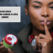 Cover invitation Lencement Officiel Elim By Mihanta Cosmetiques