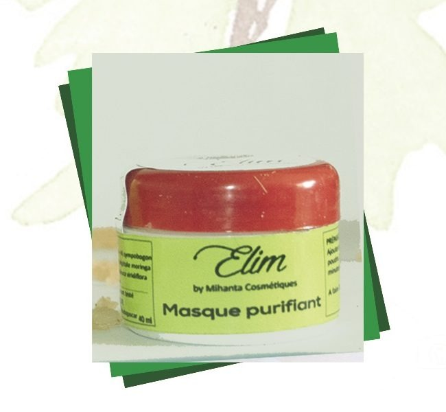 Masque purifiantiant Elim by Mihanta Cosmetiques