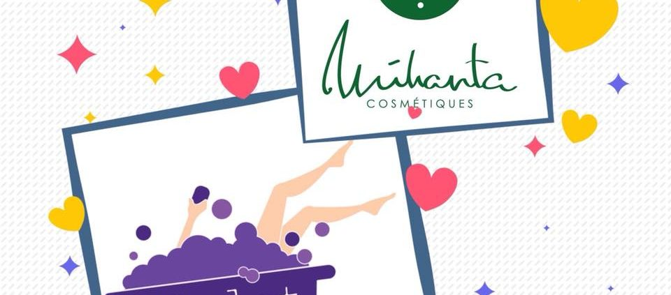 Collaboration entre Mihanta cosmetiques et Violet